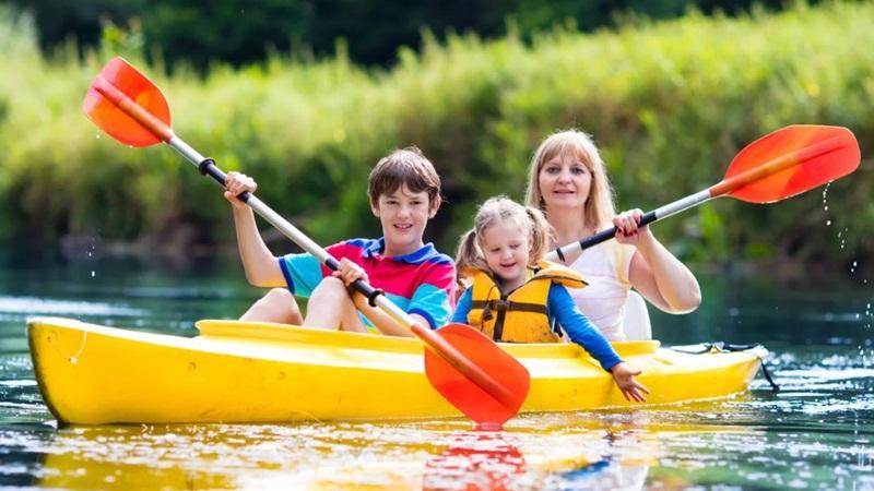 Kayaks in Hydropark