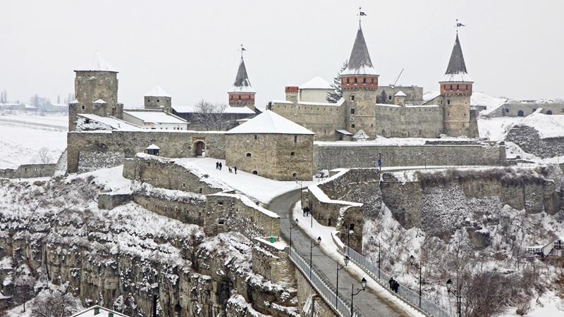 Каменец-Подольский зимой