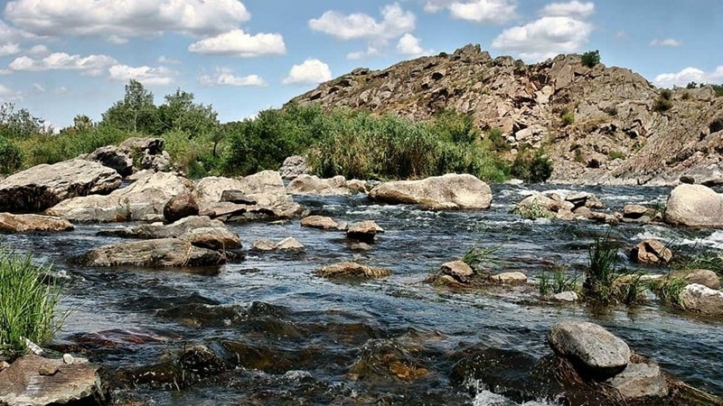 Granite-steppe lands of Buh
