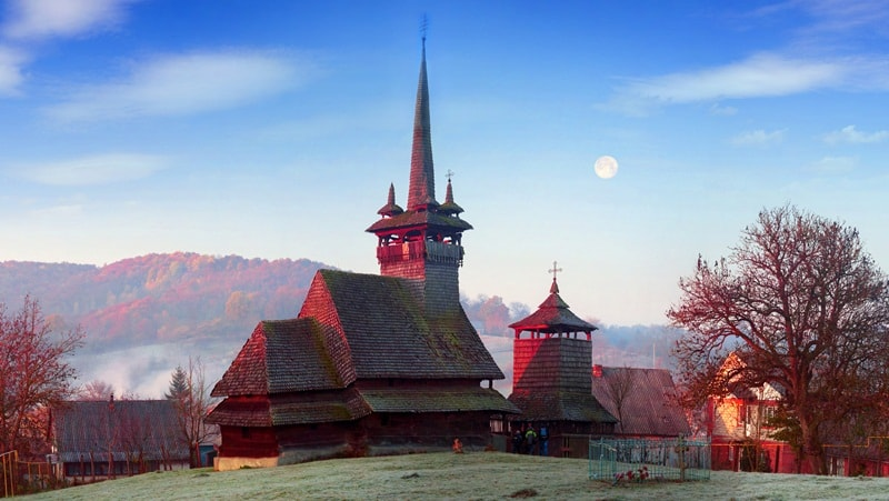 Wooden churches of the Carpathian region