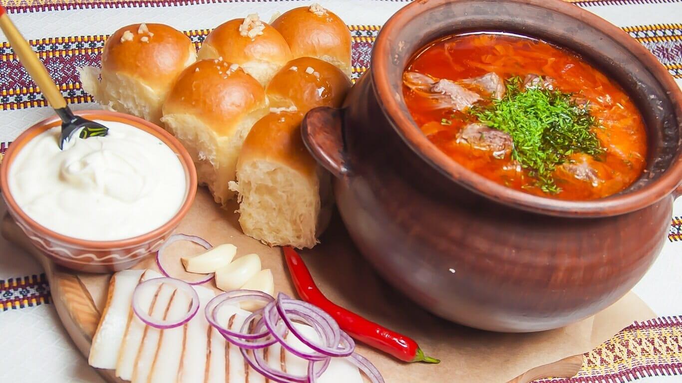 Все украинские блюда с картинками