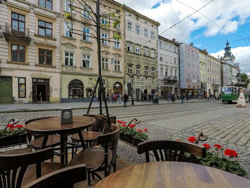 Old Lviv historic center