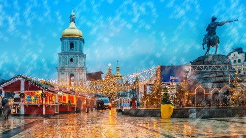 New best destination for December holidays:Kyiv